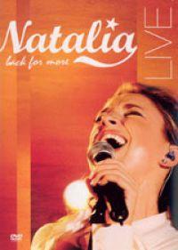 Cover Natalia - Back For More - Live [DVD]
